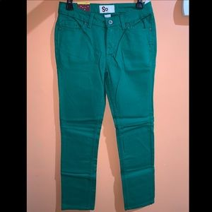 Emerald Green Jeans